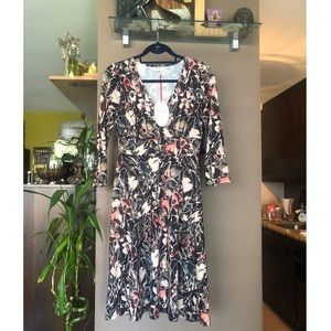 NWT Leona Edminston midi floral dress